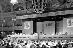 Trades Union Congress, 1989 Royalty Free Stock Photos