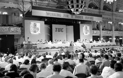 Trades Union Congress, 1989 Stock Image