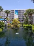 TRADEWINDS hotel , just let go Stock Photos