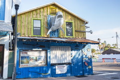 Tradewinds On-site Resort Transportation Service Shack Royalty Free Stock Images