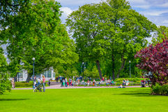 Tradgardsforeningen, the Garden Society park in Royalty Free Stock Photos