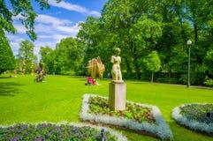 Tradgardsforeningen, the Garden Society park in stock images