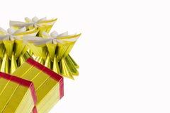 Tradição chinesa do ano novo de Joss Paper Gold Bullion For imagens de stock royalty free