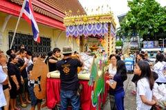 Tradição do budista de Devo Foto de Stock Royalty Free