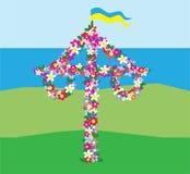 Tradição feliz do sueco dos plenos verões Imagem de Stock