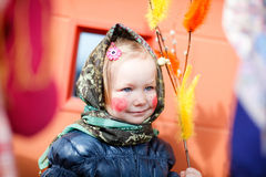 Tradições finlandesas de Easter Fotografia de Stock Royalty Free