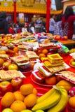 Tradições taiwanesas, crenças religiosas, os conselhos de Dafa, papel moeda divino, ofertas sacrificiais, fotos de stock royalty free