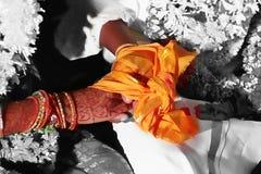 Tradición de la boda Fotos de archivo