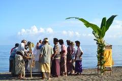 Tradición del Balinese Fotos de archivo libres de regalías