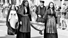 Tradición sarda Fotografía de archivo libre de regalías