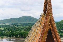 Tradición tailandesa de la arquitectura y de la naturaleza Imagenes de archivo