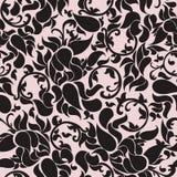 Tradicionais chineses empalidecem - a textura sem emenda cor-de-rosa Imagem de Stock Royalty Free