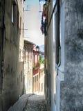 Tradicional achitecture of Porto, Portugal. Streets in Porto, Portugal - Walking around the city stock photo