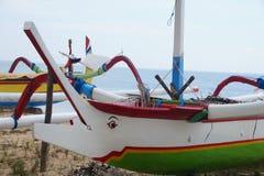 Tradicional-Balinese-Boot Stockbild