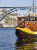 Tradicional boat at Porto Royalty Free Stock Images