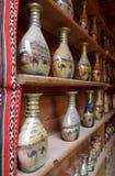 Tradicional botlle sand art, Jordan Stock Photography