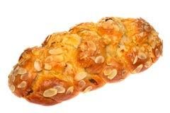 Tradicional doce de checo do pão do Natal Foto de Stock