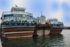 Tradicional ferrys Dubaj obrazy royalty free