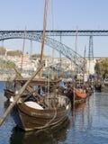 Tradicional rebelo boat Stock Photos
