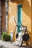 Tradicional wagon. In Cartagena de Indias Stock Photography