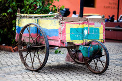 Tradicional wagon. In Cartagena de Indias Royalty Free Stock Photo