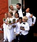 Tradiciones de la boda imagen de archivo libre de regalías