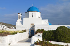 Tradiitonal church in Greece Royalty Free Stock Images