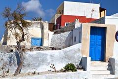 Tradiitonal old Greek house Stock Photos