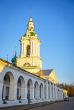 Trading Arcades in the city of Kostroma, Russia Royalty Free Stock Images
