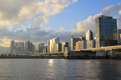 Trading,  business and Industrial area at kwun tong Stock Photography