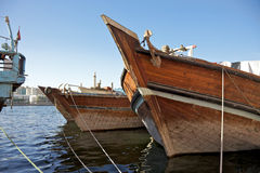 Trading Dhows Royalty Free Stock Images