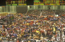 Trading Floor of The Chicago Board of Trade, Chicago, Illinois Royalty Free Stock Photography
