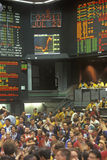 Trading Floor of the Chicago Mercantile Exchange, Chicago, Illinois Stock Photography