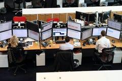 Trading floor Royalty Free Stock Photo