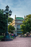 Trading house `Brothers Eliseev ` on Nevsky Prospect Royalty Free Stock Photos