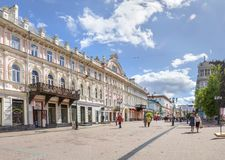 Trading House of Chesnokov and Kudryashov. Nizhny Novgorod, Russia. Royalty Free Stock Photo