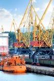 Trading port Stock Photos