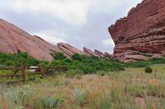 Trading Post Trail Rock Landmarks Stock Image