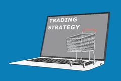 Trading Strategy concept Stock Image