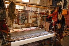 Tradional Berbers Carpets мастерская Стоковые Изображения