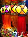 Tradional Diwali lyktor Royaltyfri Foto