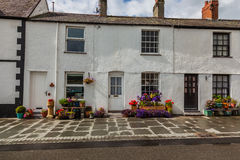 Tradional Fishing cottages Royalty Free Stock Photos