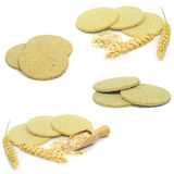 Tradional Scottish oat cakes Stock Images