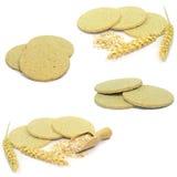 Tradional Scottish oat cakes Stock Images