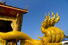 Tradional thai guard lord sculpture Royalty Free Stock Photography