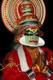 Tradionaldans van Kathakali Stock Afbeelding