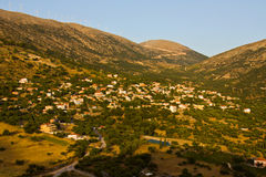 Tradiotinal Greek village Stock Photography
