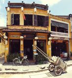 Tradiotional architektura w Hoi fotografia stock