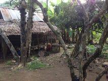 Tradisional hus från indonesia Arkivfoto