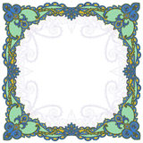 Tradisional russian ornaments. Tradisional russian  Pavlovo-Posadsky ornaments for shawl and textile Stock Images